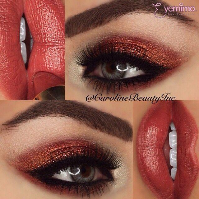 #eyemakeup by @carolinebeautyinc wearing our #falsie style #GLM13 _________________________________ ⒮⒣⒪⒫  ⒫⒭⒪⒟⒰⒞⒯⒮  ⒜⒯ www.shopeyemimo.com/falseeyelashes-glm13