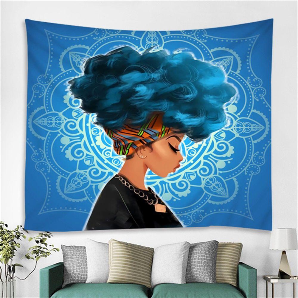 African american women art wall tapestry d bedroom