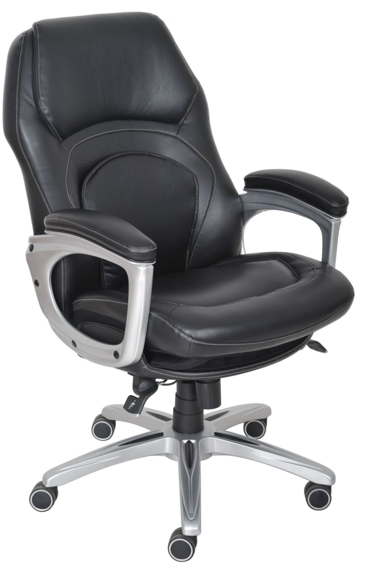 Serta Wellness Executive Leather Office Chair & Reviews