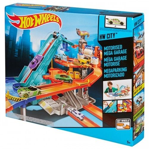 Mattel Hot Wheels Motorised Mega Garage Bgj18 Hot Wheels Hot