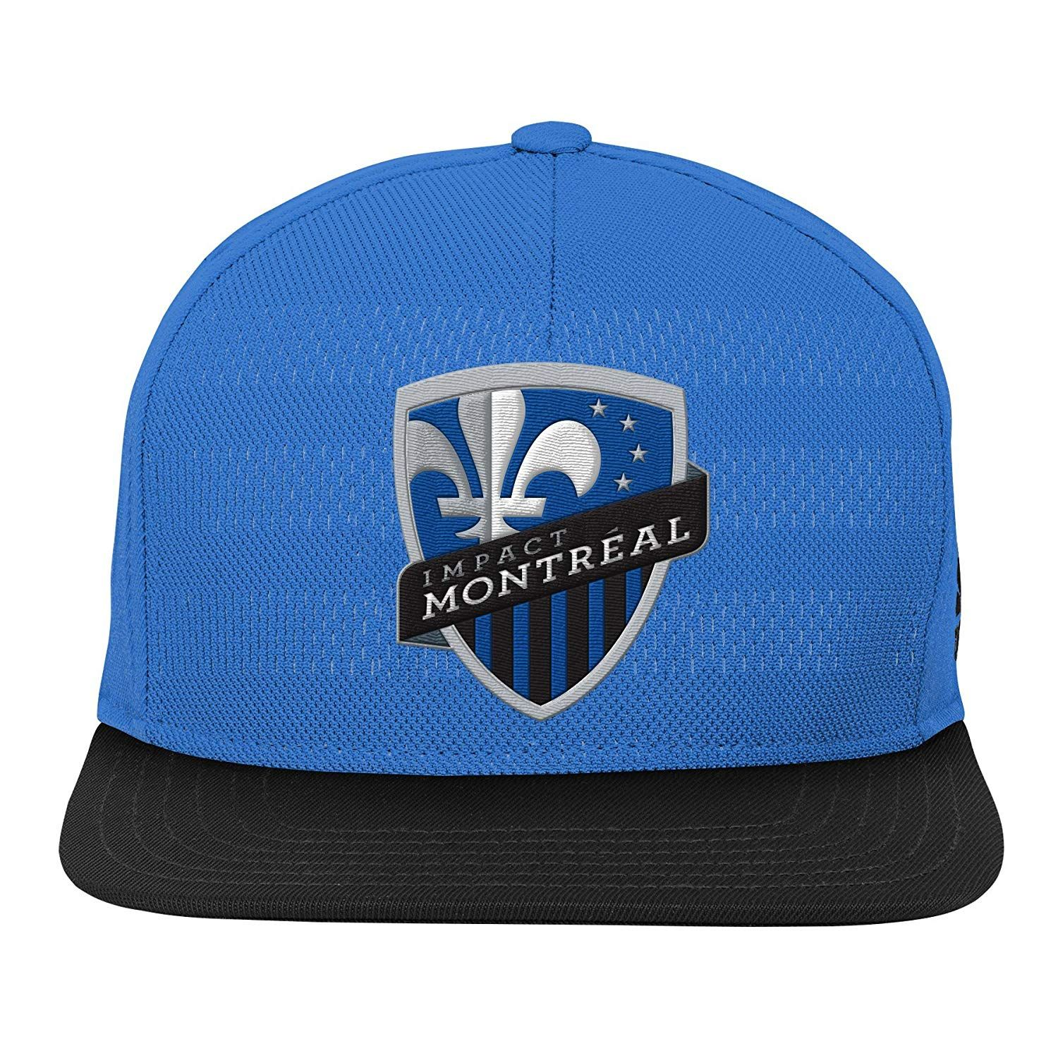b49f46867260a MLS Montreal Impact Youth Boys Authentic Flatbrim Snapback