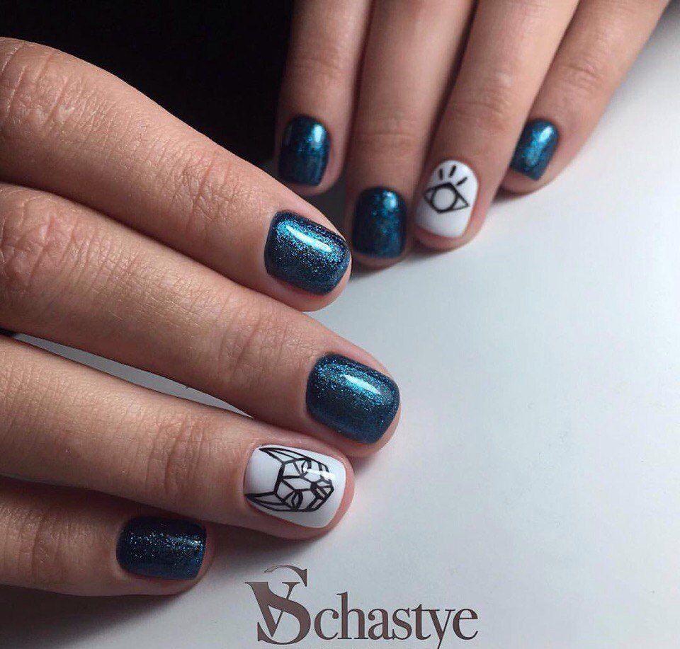 Nail Art #3029 - Best Nail Art Designs Gallery | Ring finger nails ...