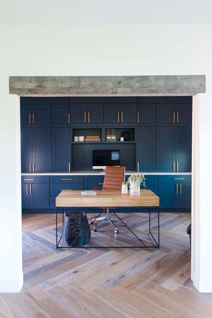 40 farmhouse office desk ideas in 2020 home office