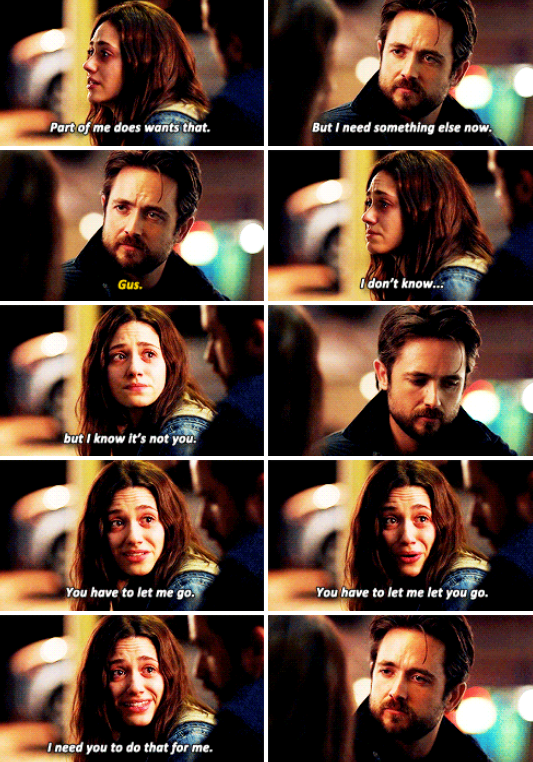 Shameless. Fiona and Jimmy. 5x07. The way they finished this story line makes no sense... They should have left Jimmy dead of they weren't getting back together :(