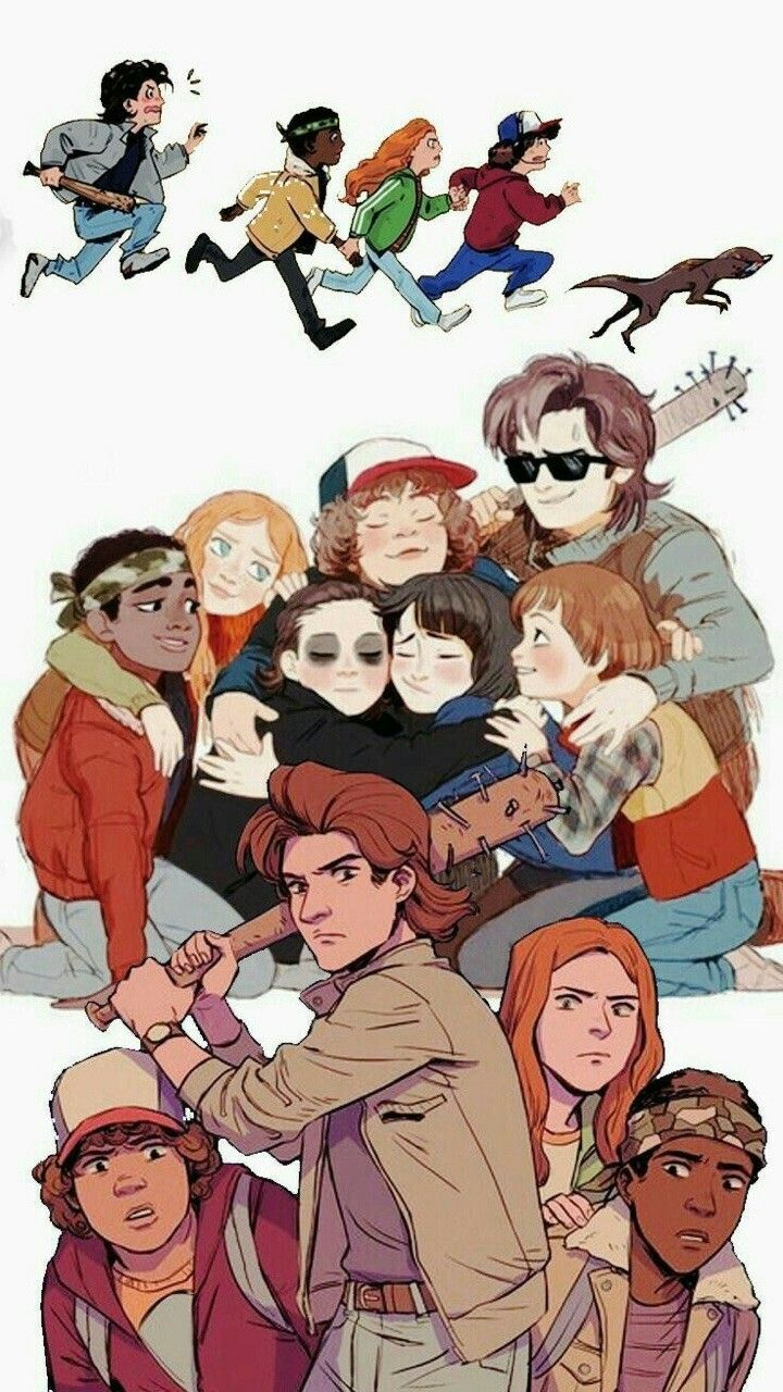 These Are Amazing Soccer Mom Steve Is Best Steve Stranger Things Fanart Stranger Things Art Stranger Things Poster