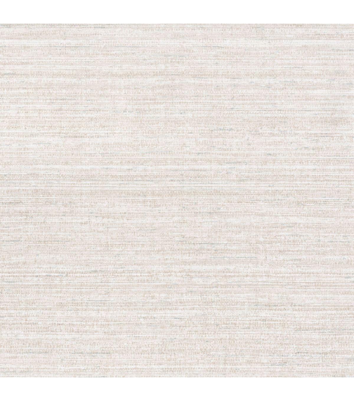 Raul Light Grey Fabric Texture Wallpaper JoAnn