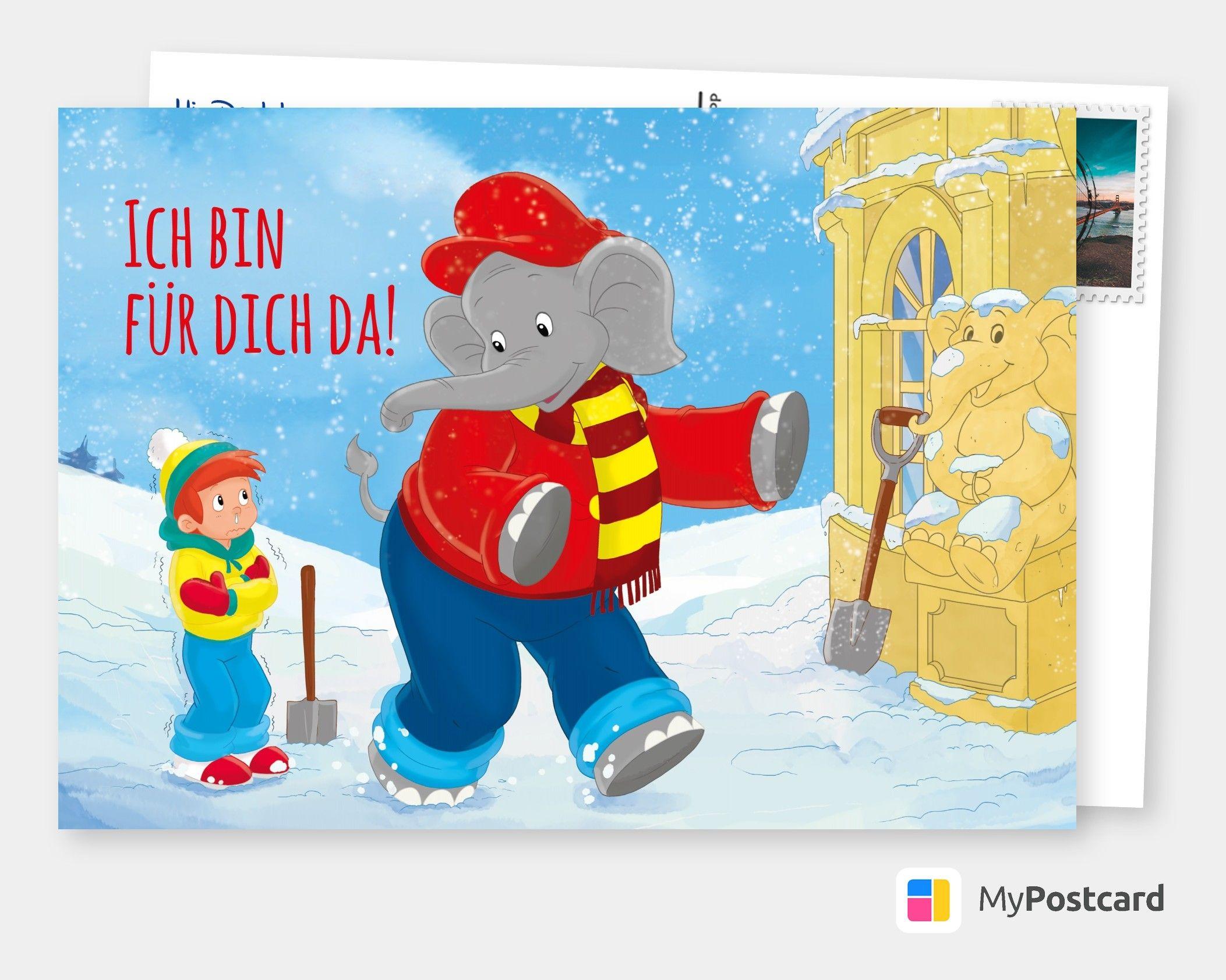 Benjamin Blumchen Fur Dich Da Spruche Kindergeburtstag