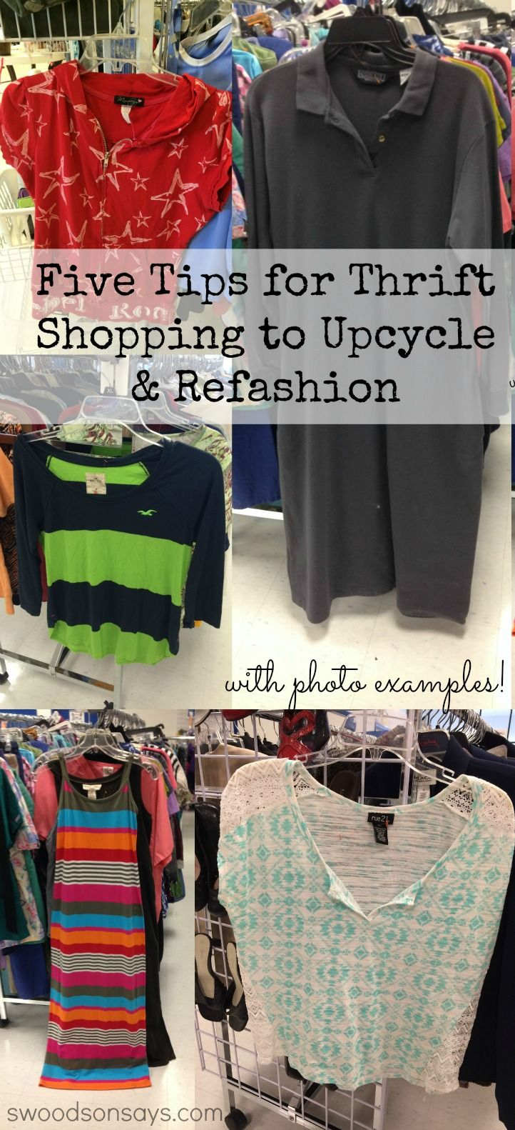 Five Tips for Thrift Shopping to Upcycle