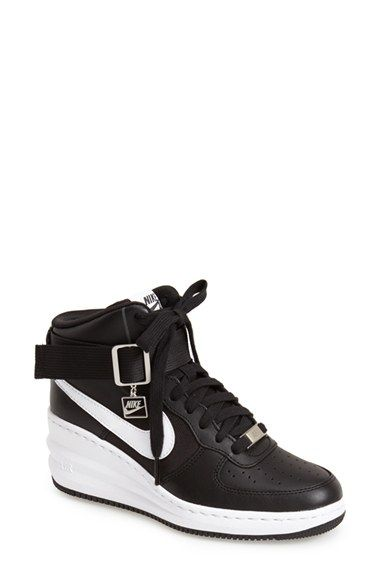 free shipping 31a9b a28de Nike  Lunar Force Sky Hi  Wedge Sneaker (Women) available at  Nordstrom