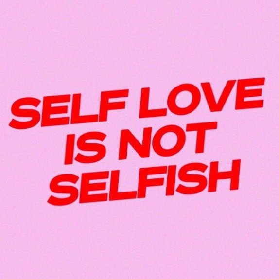 Photo of self love is not selfish Art Print by typutopia