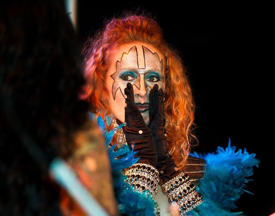 Ace of Space Glamorous Rock n Roll Las Vegas Showgirl