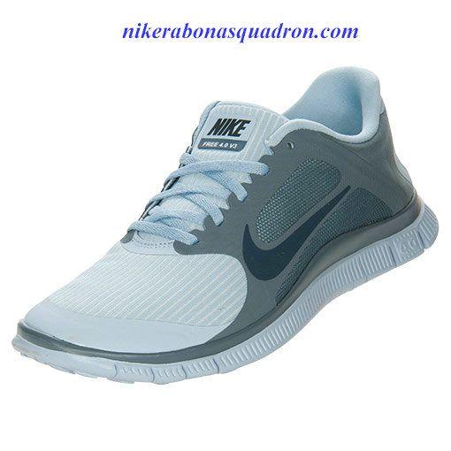 huge discount 39e23 1410f Nike Free 4.0 V3 Womens Light Armory Blue Armory Navy 580406 444