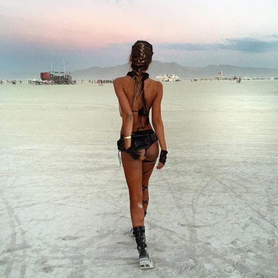 Anal naked women of burningman pictures