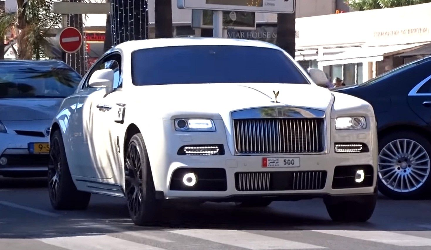 Classy White Mansory Rolls Royce Wraith In Action Autohaus