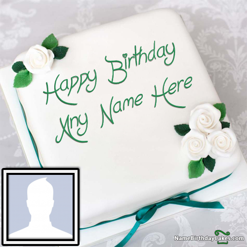Generate Happy Bday Cake With Name And Pic Happy bday