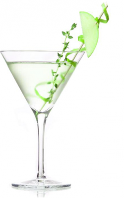 Apple thyme H20 cocktail