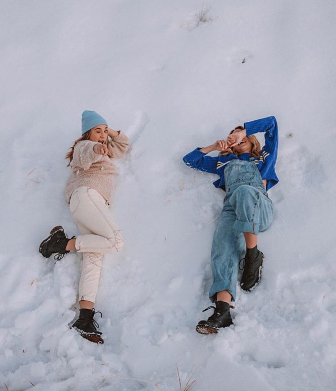 Maddie and Summer (с изображениями)   Зимняя фотография ...