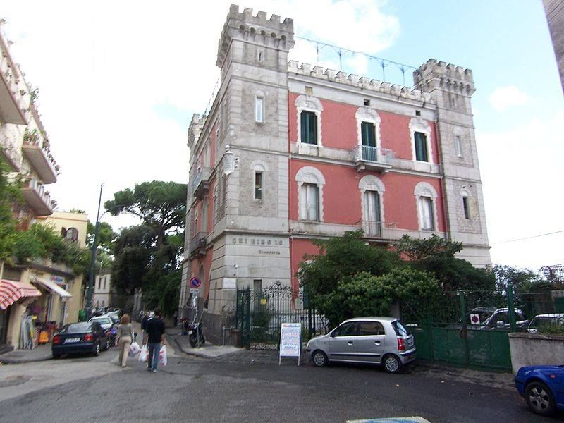 "Napoli, Vomero hill, Villa ""La santarella"", property of famous Neapolitan playwright Eduardo Scarpetta, father of Eduardo De Filippo"