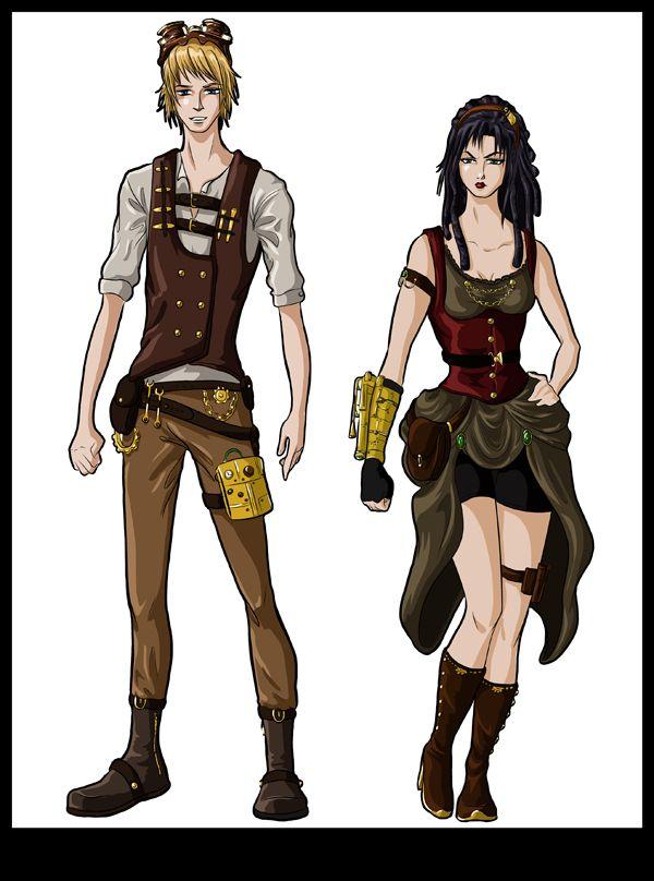 steampunk anime - Pesquisa Google | Moda alternativa ...  steampunk anime...
