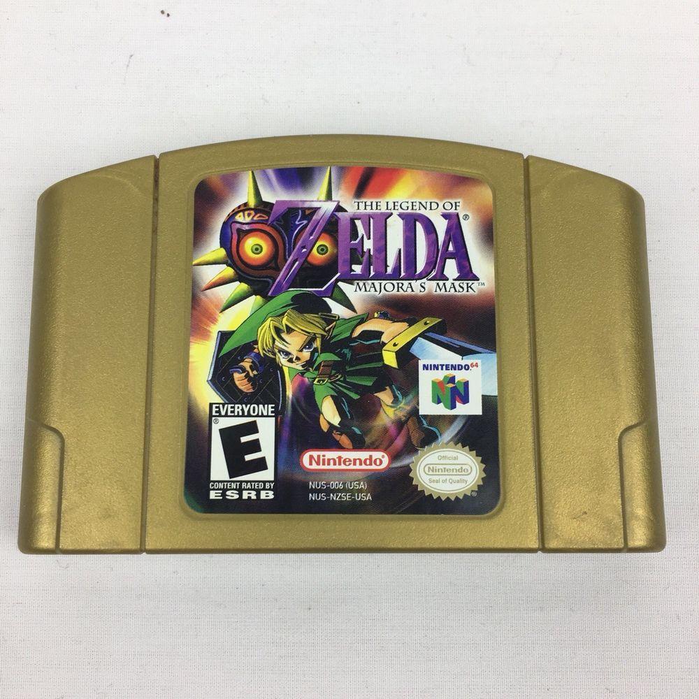 The Legend Of Zelda Majoras Mask Collectors Edition Holo Nintendo 64 N64 Nintendoswitch Nintendo Switch Ocarina Of Time Legend Of Zelda Majoras Mask