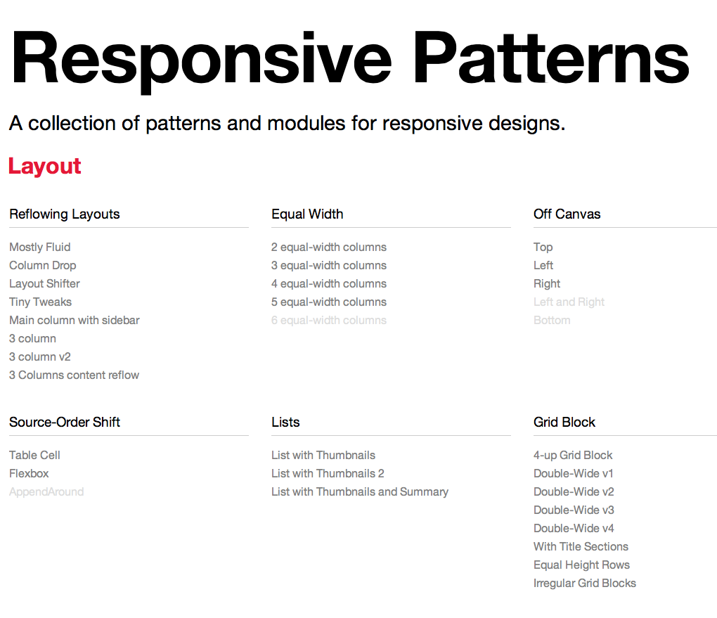 This is Responsive: Responsive Design Patterns