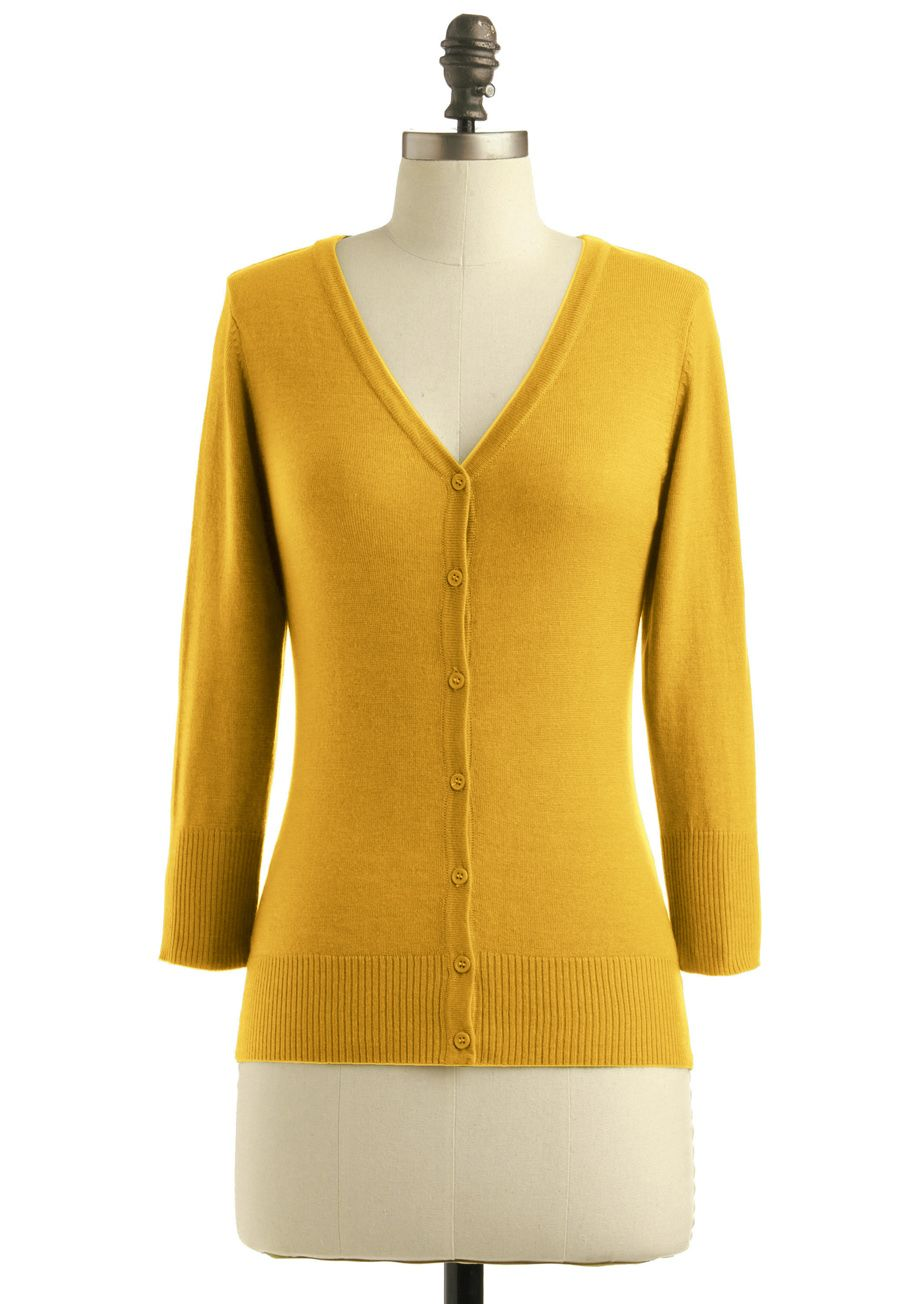Charter School Cardigan in Honey | ModCloth, Honey and School