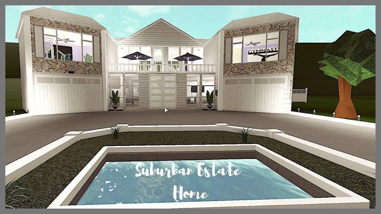 Roblox Bloxburg House Tour Suburban House Suburban House