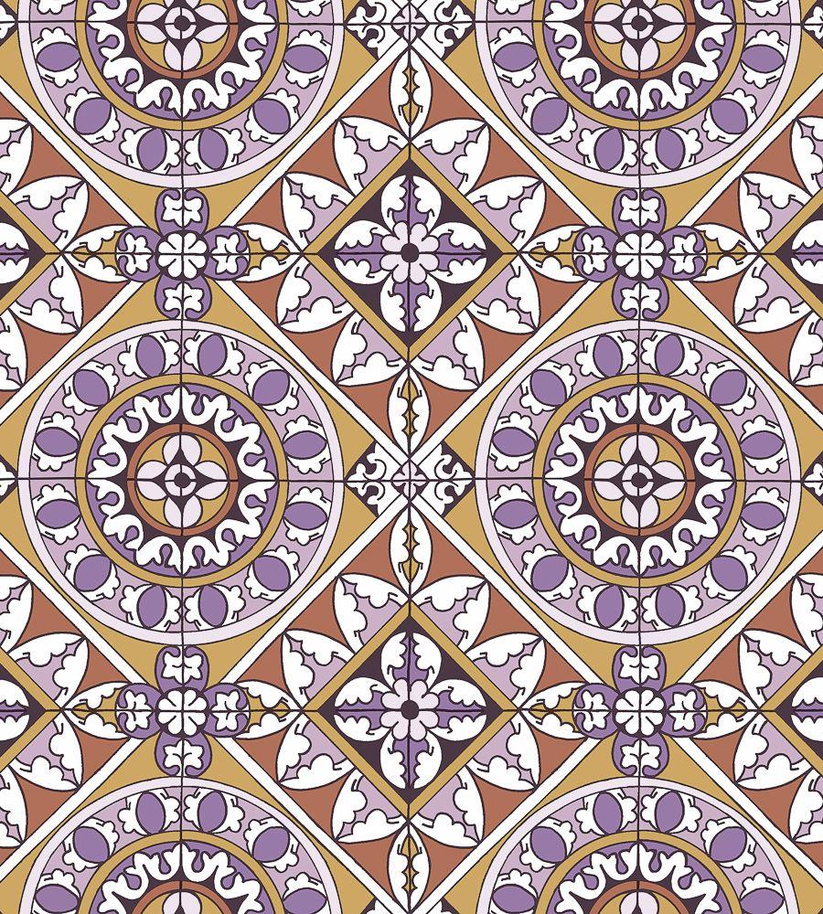 Vintage Tiles Wallpaper by Eco | Jane Clayton