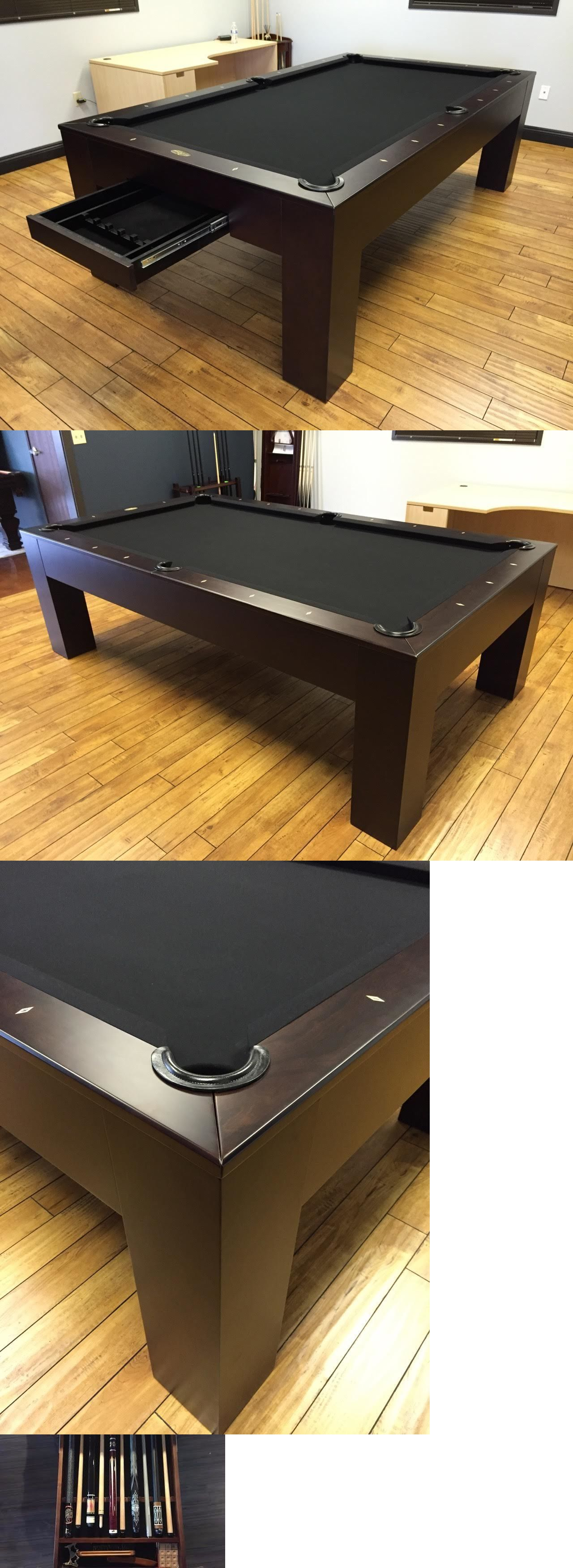 Tables 21213: Metropolitan Pool Table W Dining Top Conversion And Storage  Drawer Free Shipping