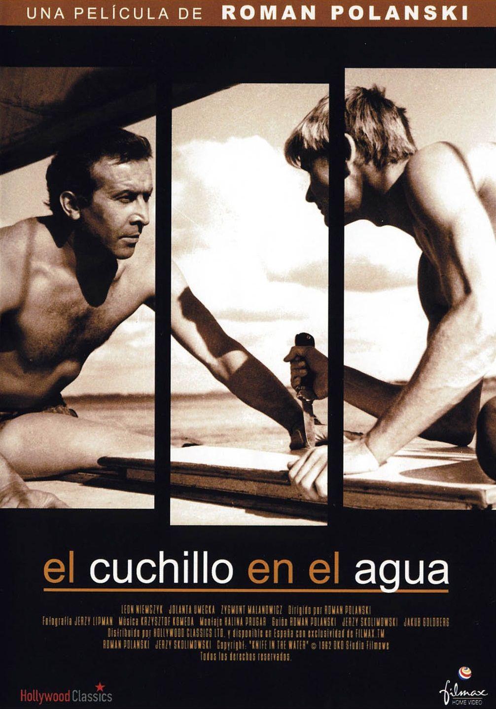 El Cuchillo En El Agua 1962 Polonia Dir Roman Polanski Drama Thriller Dvd Cine 568 Sinopse Iate Filmes