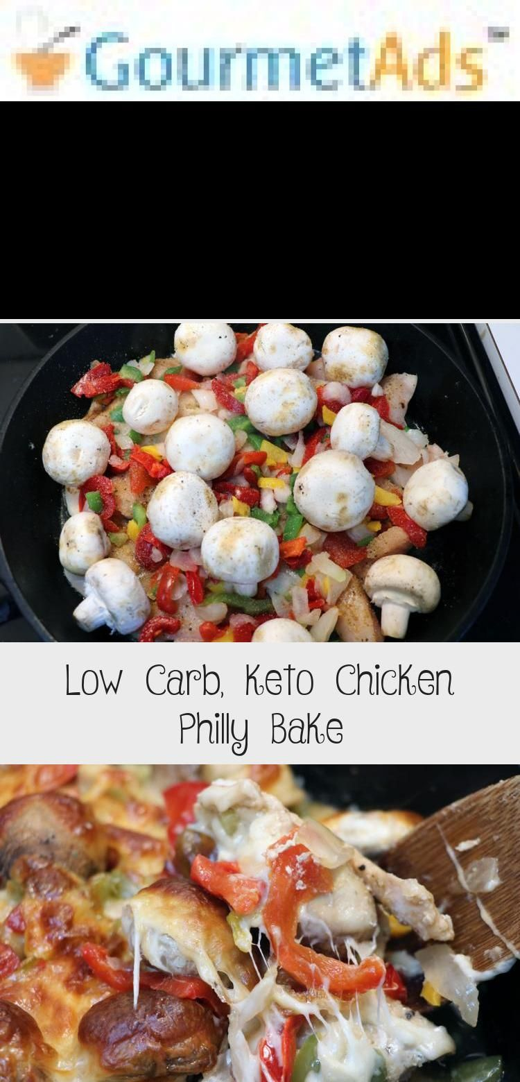 Low Carb, Keto Chicken Philly Bake — The Coffee Mom #health #fitness #nutrition #keto #diet #recipe...