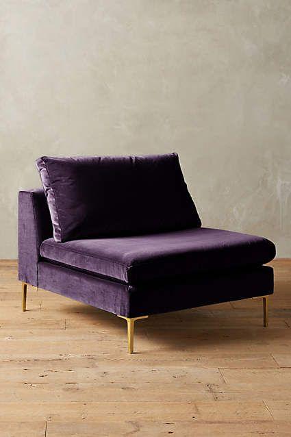 velvet Edlyn chair