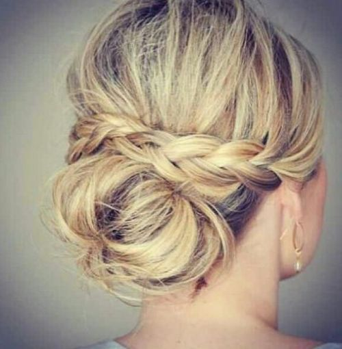 Up Hairdos For Thin Hair: Hairstyles For Thin Hair Up Updo Hairstyles For Thin Hair