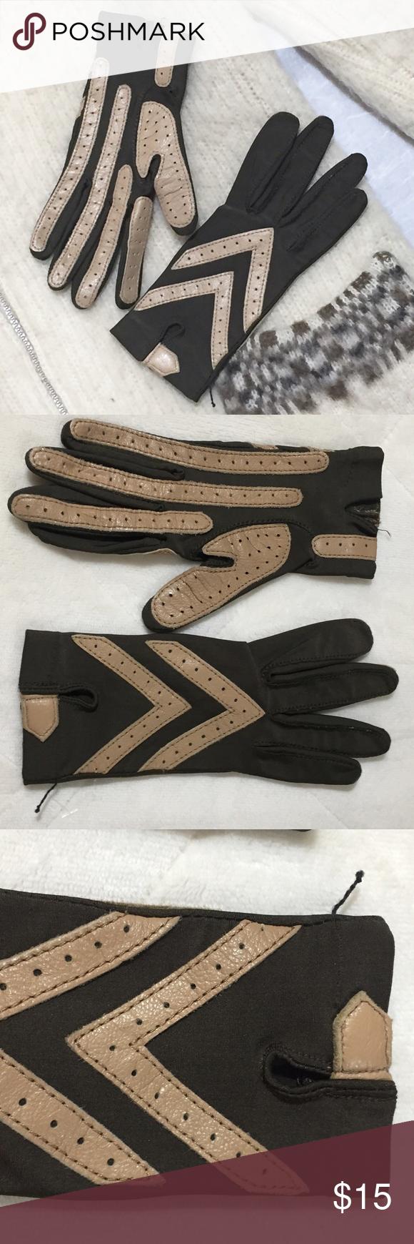 Driving gloves isotoner - Vintage Isotoner Driving Gloves
