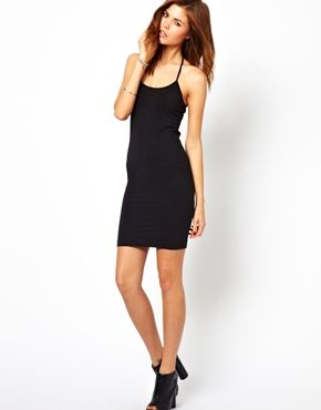Image 4 of 2nd Day Base Body-Conscious Slip Dress