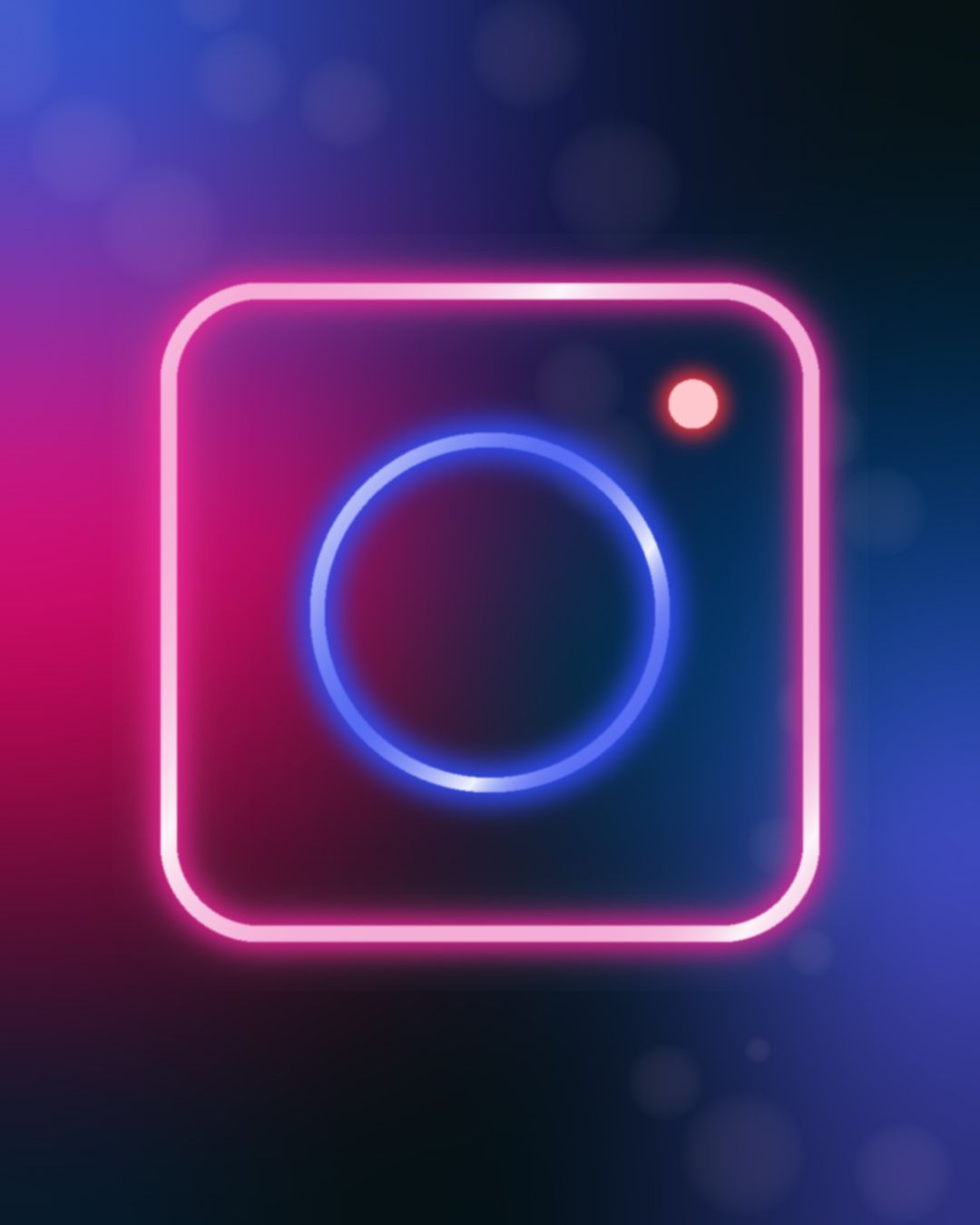Instagram Neon Logo Wallpaper iphone neon, Neon logo