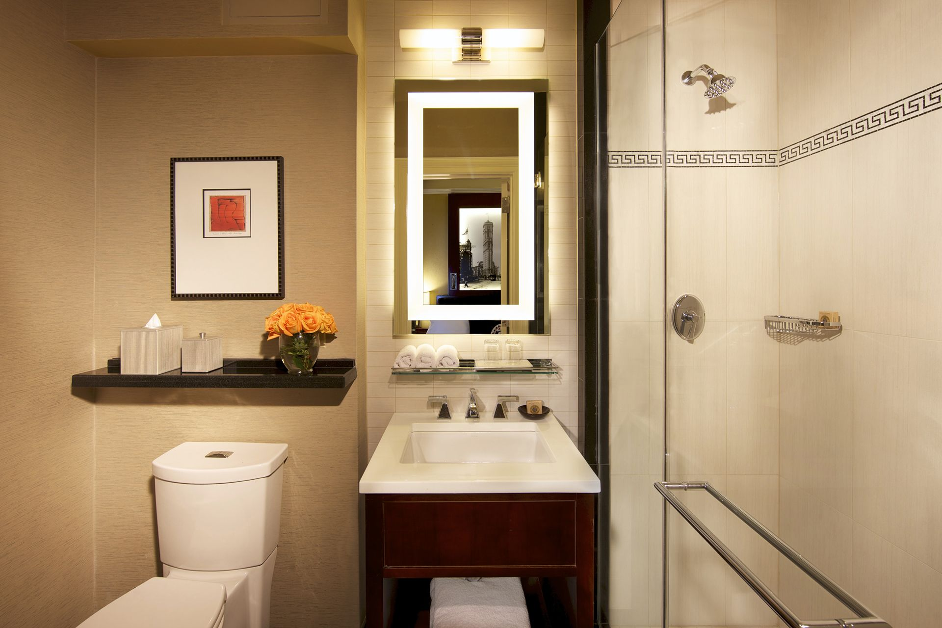 Littman Brands Contract Lighting in the Algonquin Hotel