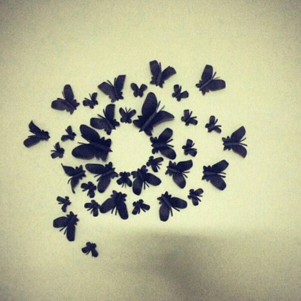 Butterfly wall decor #walldecoration #handmade To order dm or ...
