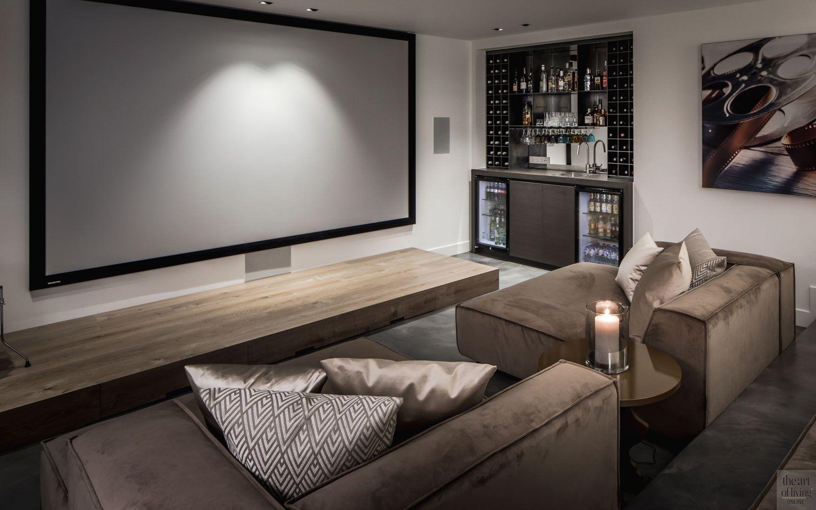 Landelijke Nieuwbouw Home Theater Seating Home Theater Design