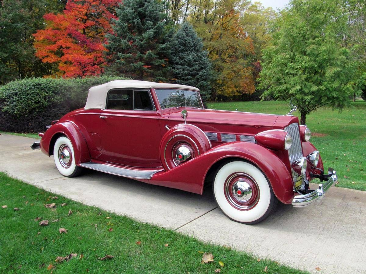 1937 Packard Super 8 Model 1501 Coupe Roadster Convertible For Sale 1632164 Packard Cars Packard Roadsters
