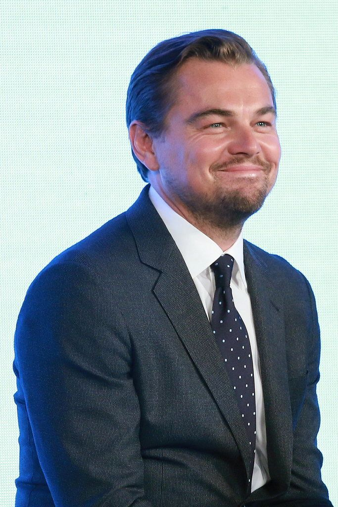 Leonardo Dicaprio Pulls Hilarious Faces At A Press Conference