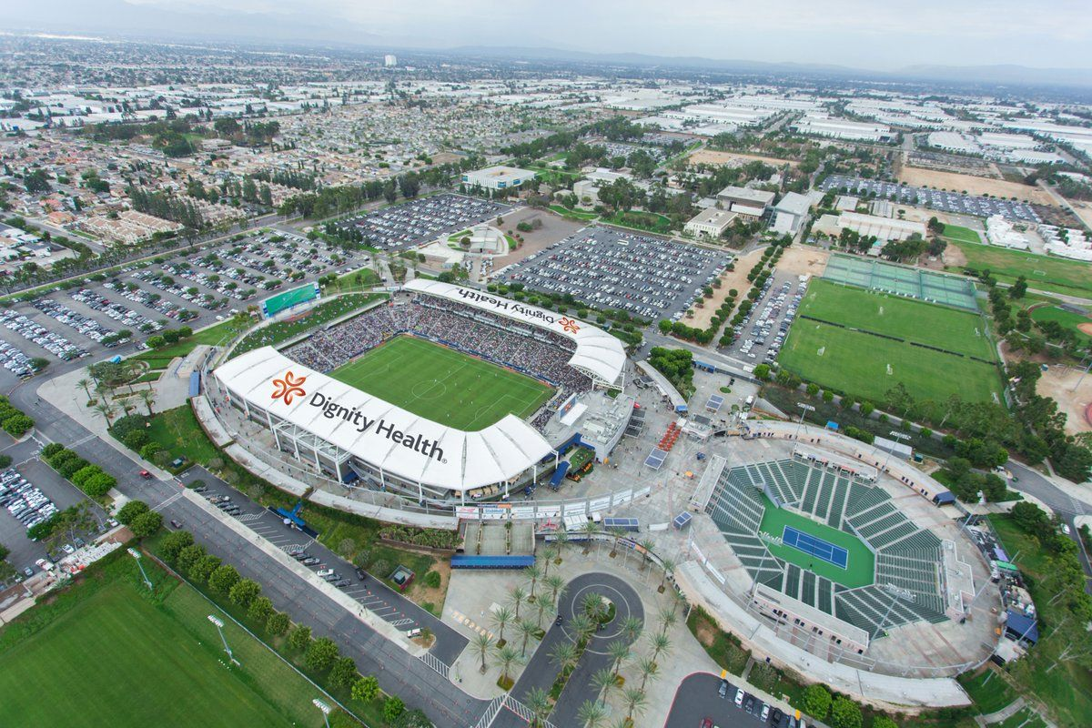 The LA Galaxy will rename their stadium Dignity Health