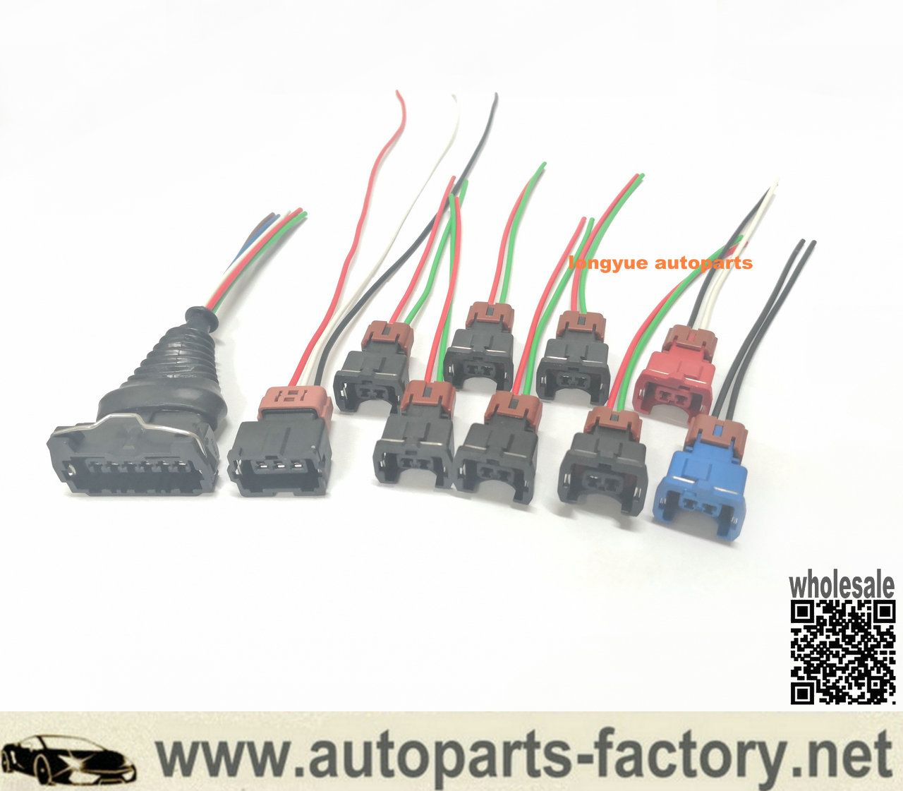 pin on longyue fuel injector maf tps wiring harness connector kit ...  pinterest