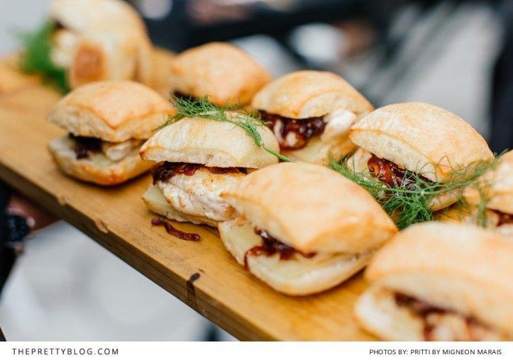 Mini gourmet burgers. Photography: Pritti