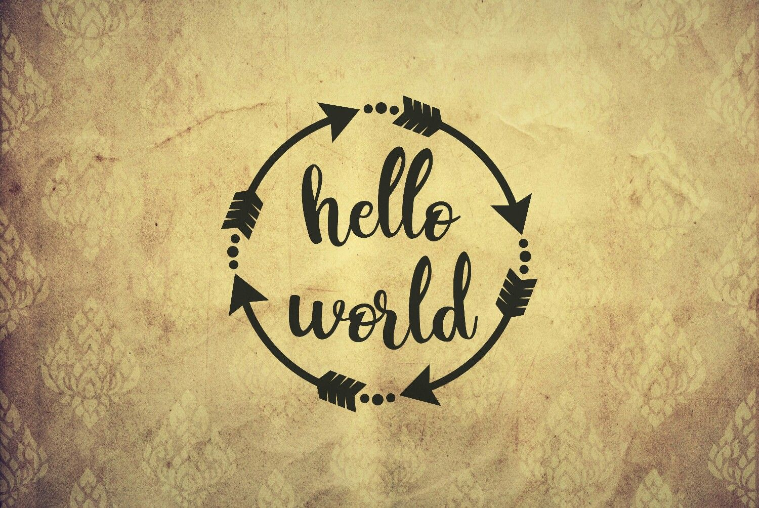Hello world svg hello world svg files for cricut hello svg greeting ...