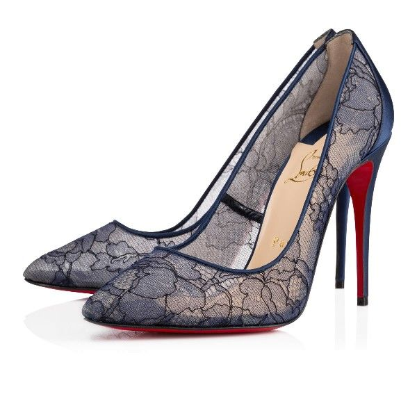 chaussure louboutin dentelle