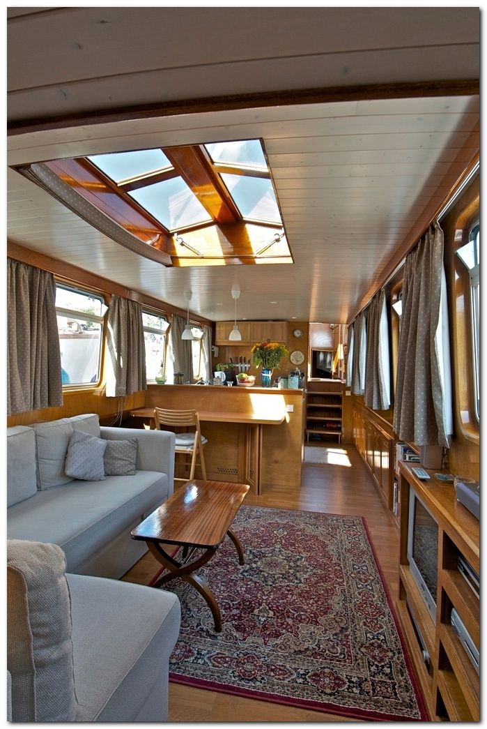 Cheap Houseboat Interior Ideas With Images Boat House Interior