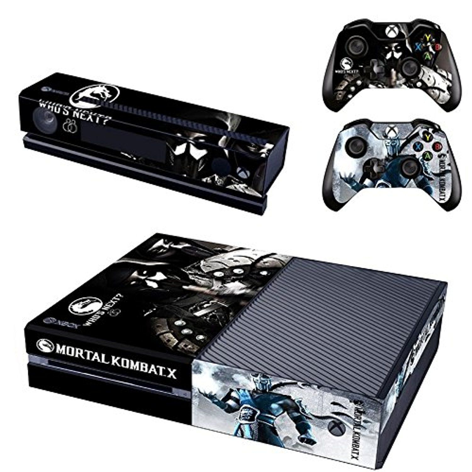 Mortal Kombat X Xbox One Skin For Console And Controllers Awesome Products Selected By Anna Churchill Xbox One Skin Xbox One Console Xbox One