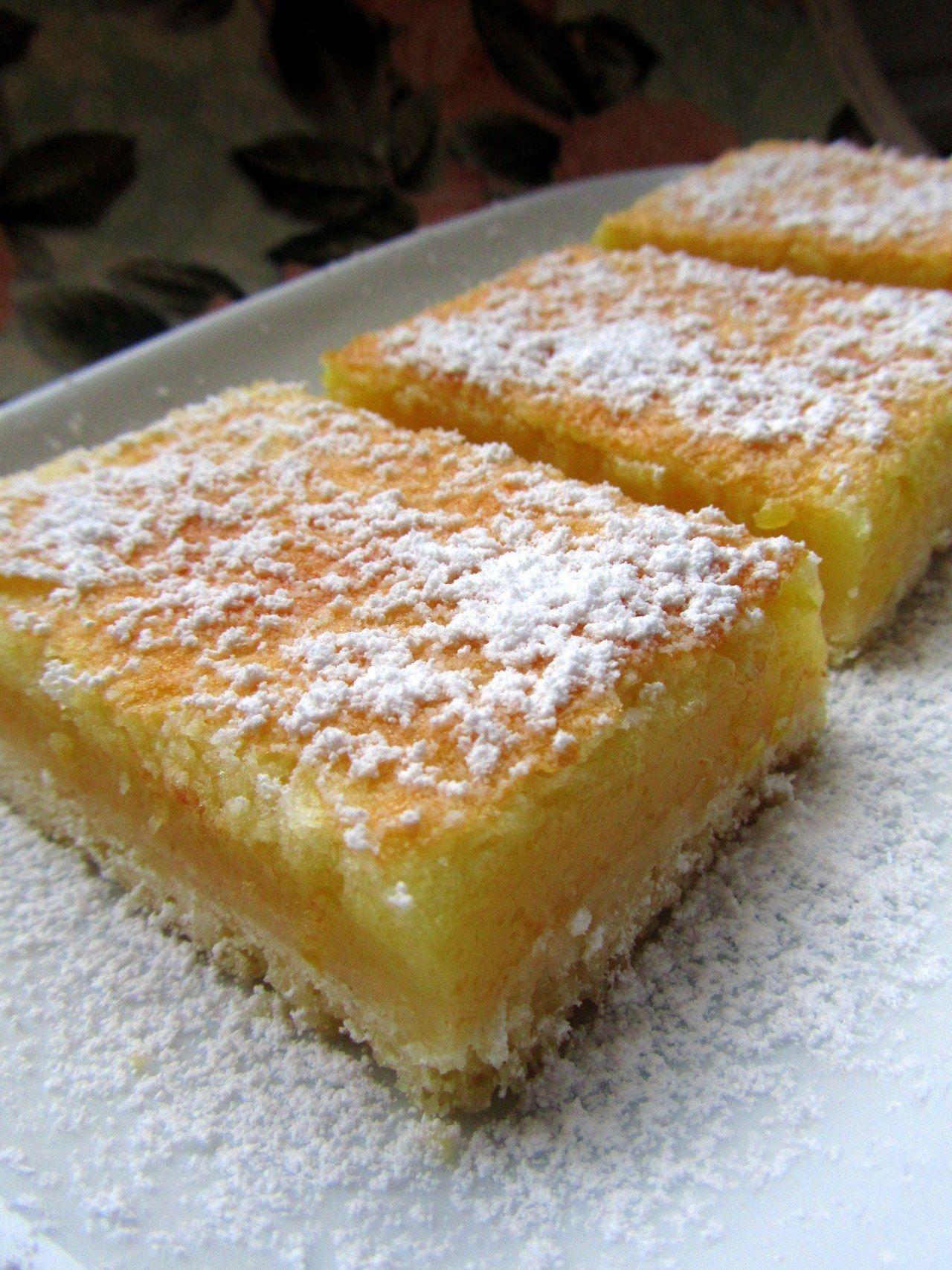 Rezept gegen Winterblues: Lemonbars