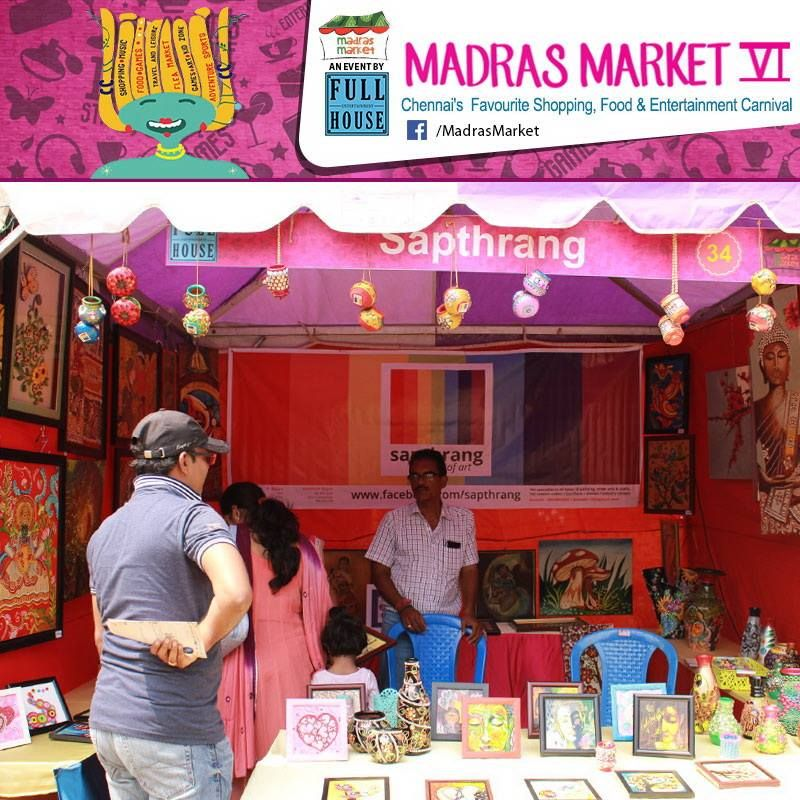 Fashion Beauty Zone: Sapthrang-the Magical Color Stall From Madras Market VI